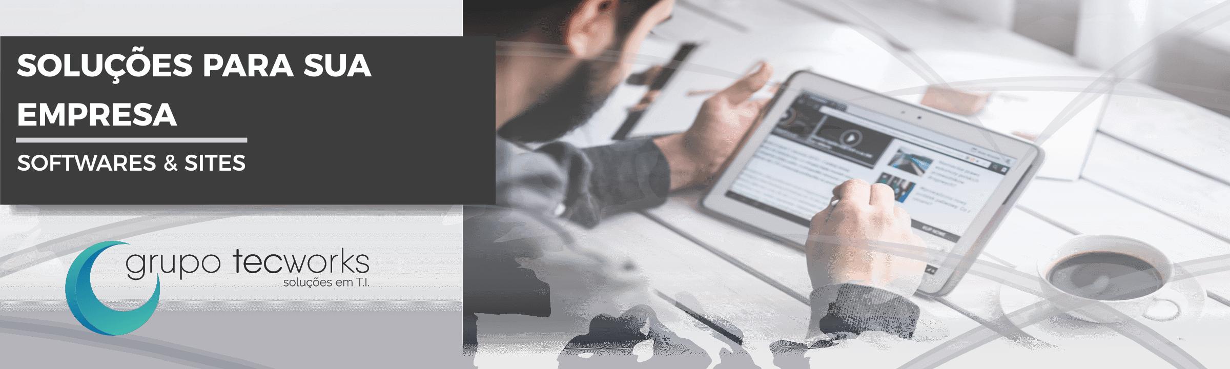 Soluções em Softwares e Sites para sua empresa