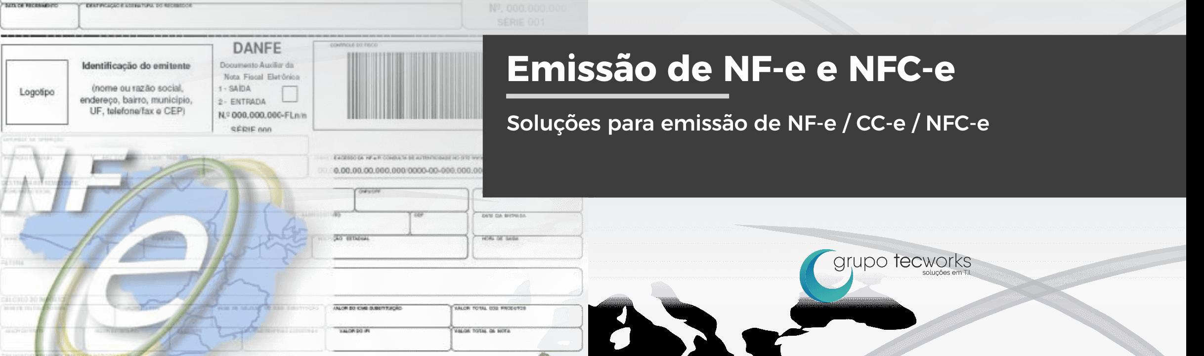 Soluções para emissão de NFe, NFCe, CCe, PAF...